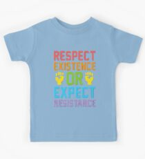 Existence Or Resistance Kids Clothes