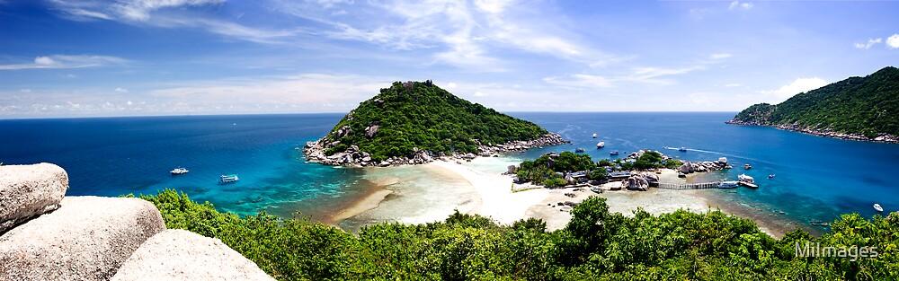 Koh Nangyuan Thailand - Best Viewed In Large by MiImages