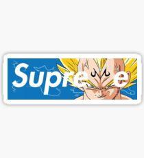 Majin Vegeta Supreme Dragon Ball Z Sticker