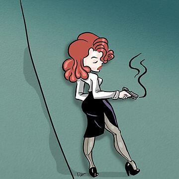 Femme Fatale by cartoonpinups