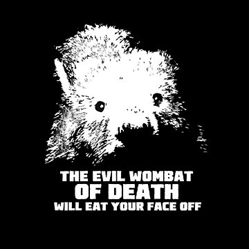 The Evil Wombat of Death by GalenValle