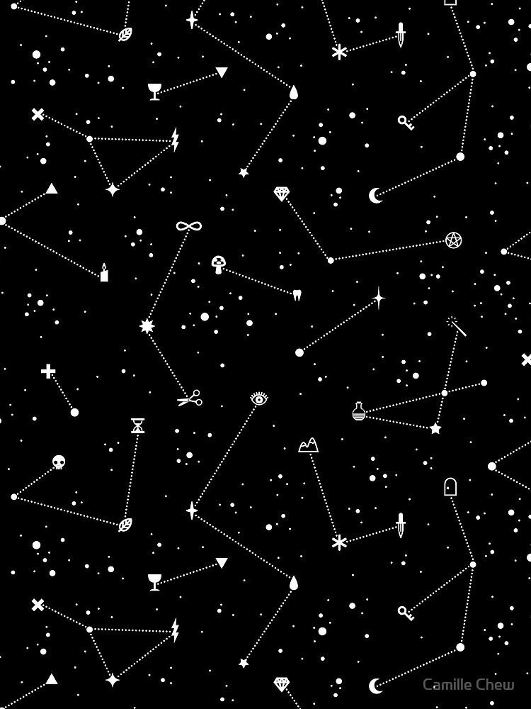 Constellations (Black) by LordofMasks