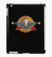 Ray Guns n Roses iPad Case/Skin
