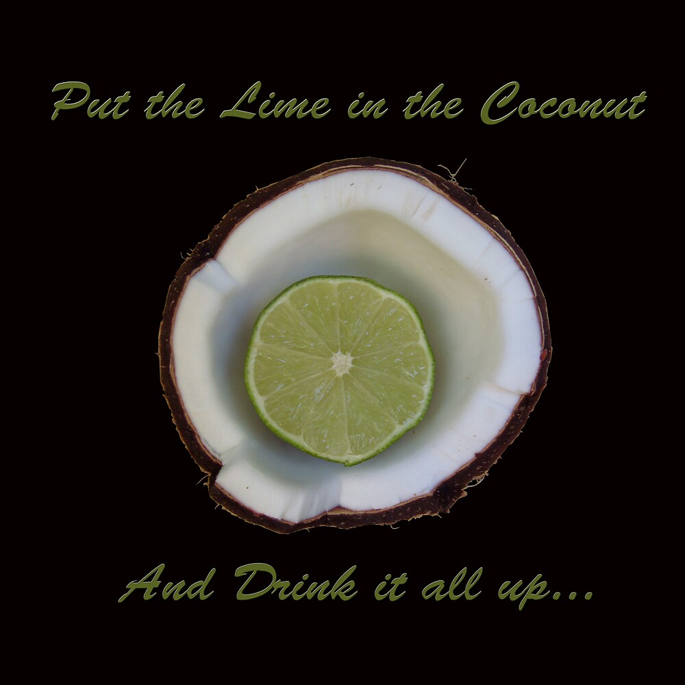 Put the lime in the coconut  by kelleybear