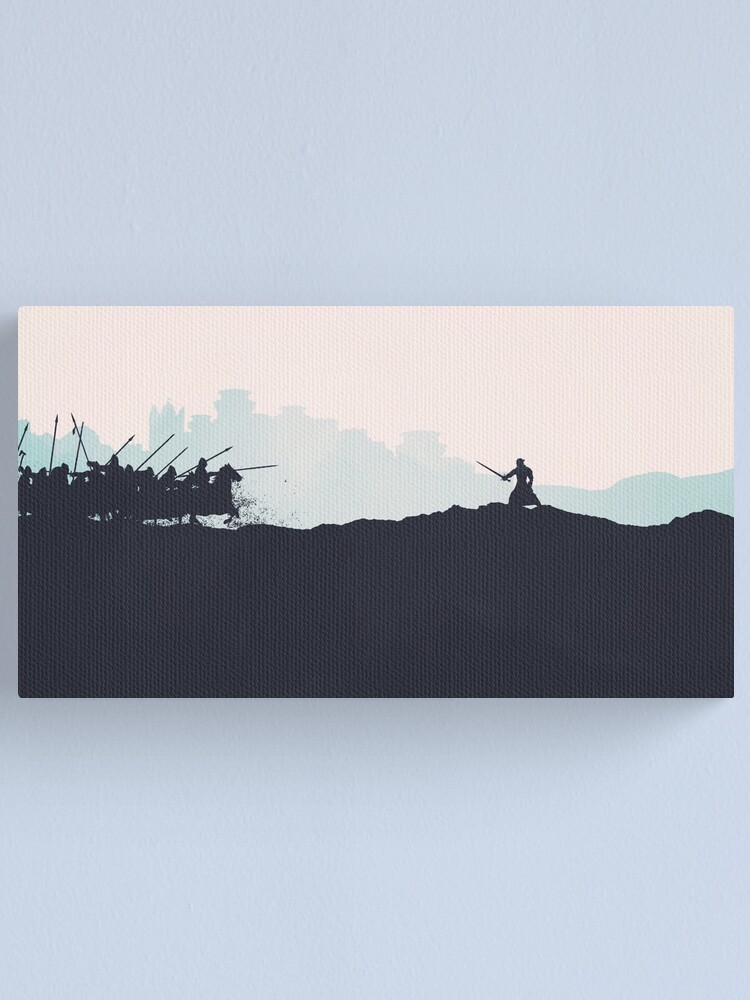 Alternate view of Battle of the Bastards Canvas Print