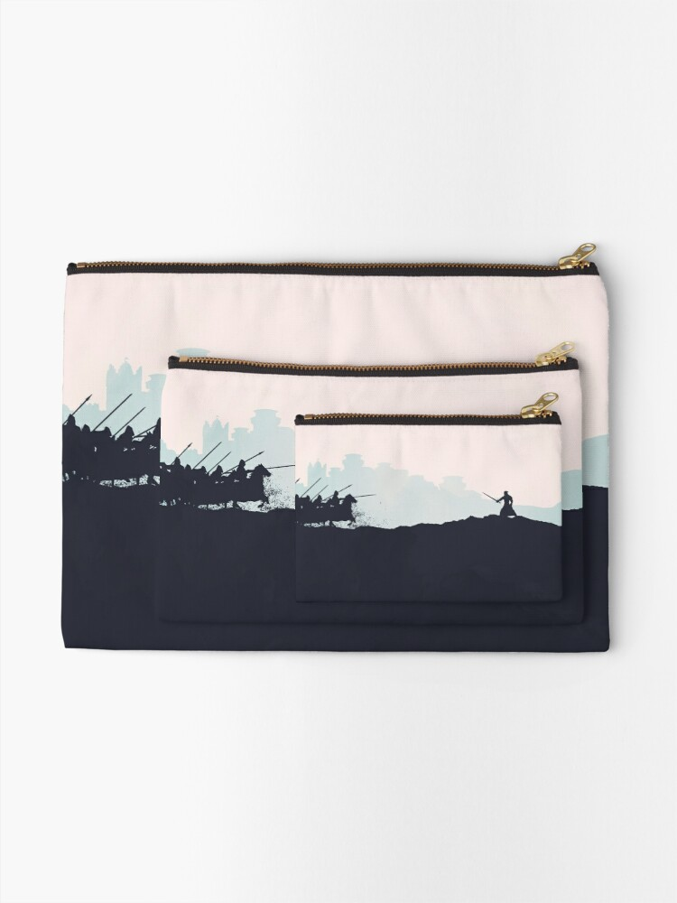 Alternate view of Battle of the Bastards Zipper Pouch