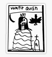 VAMPIR QUEN Sticker