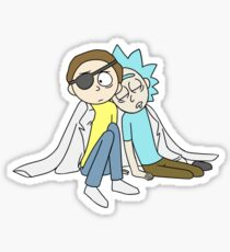 Evil morty game theory is wrong wisecrack romance Sticker