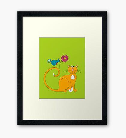 The Daisy Framed Print