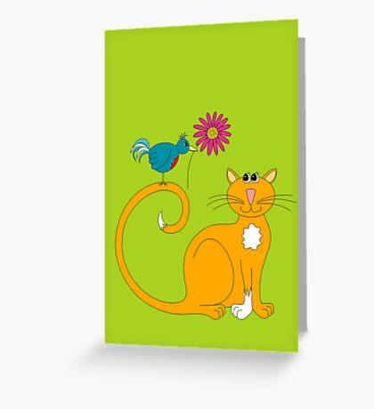 The Daisy Greeting Card