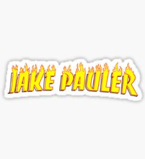 Jake Pauler Flames Team 10 Sticker