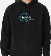 NEW NPPA SHUTTER SWIRL LOGO Pullover Hoodie