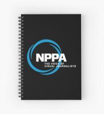 NEW NPPA SHUTTER SWIRL LOGO Spiral Notebook