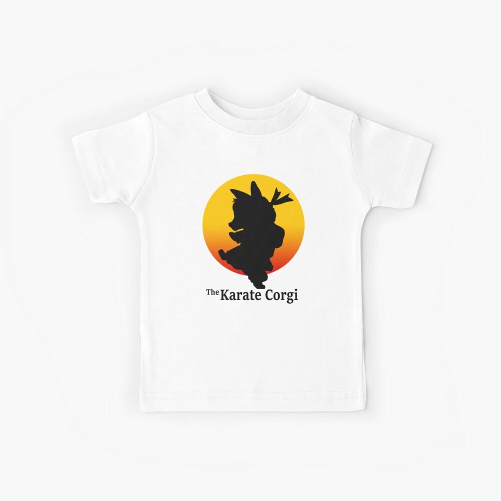 Der Karate Corgi Kinder T-Shirt