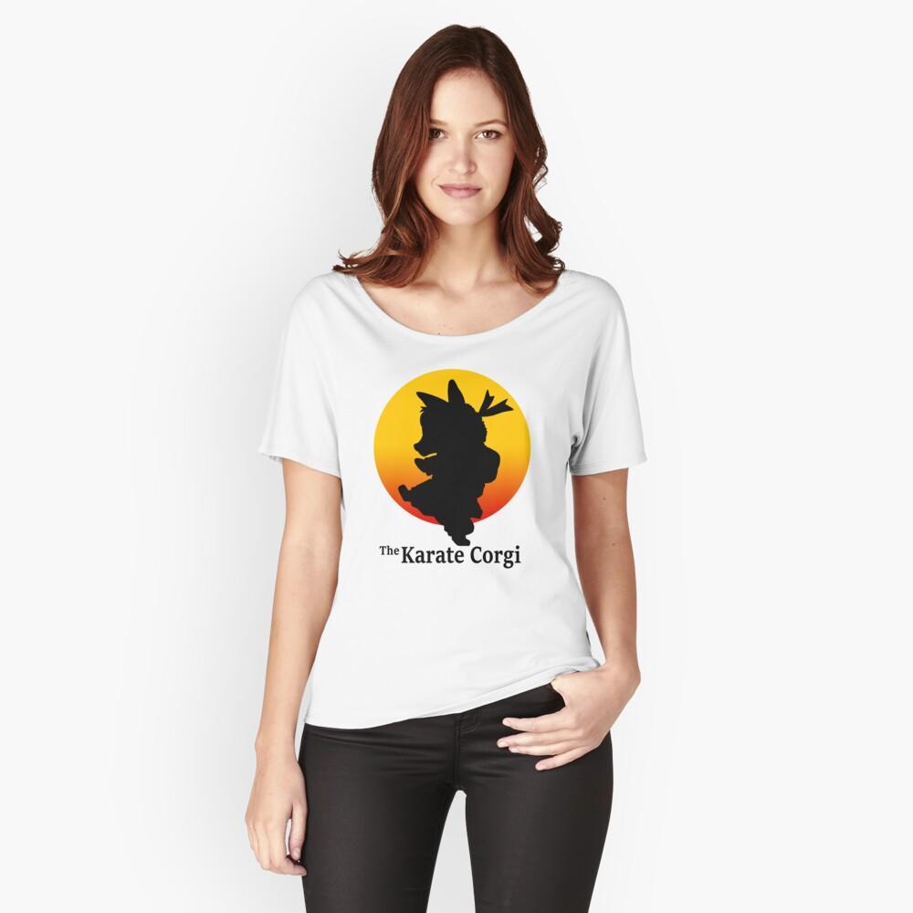 Der Karate Corgi Loose Fit T-Shirt