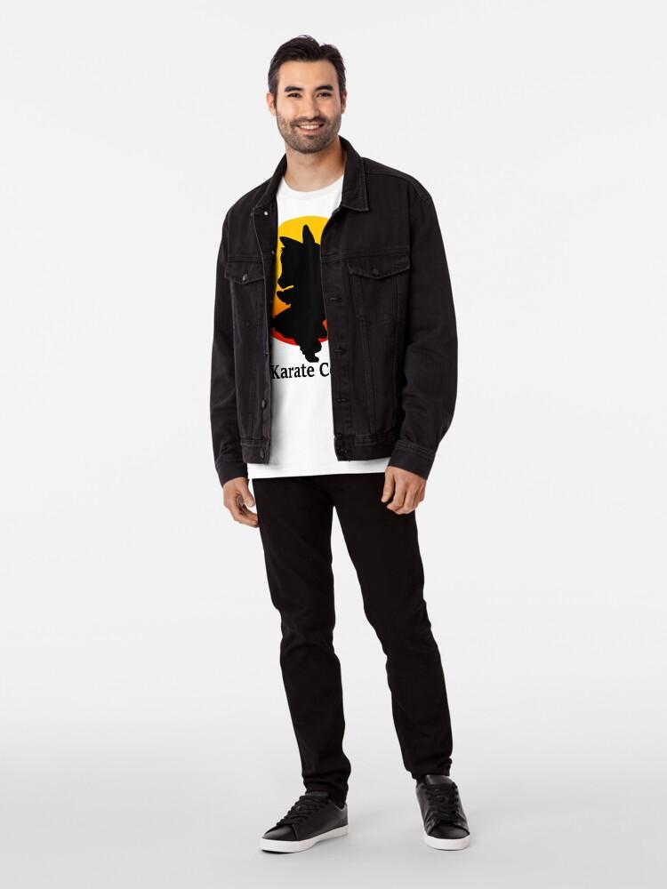 Alternative Ansicht von Der Karate Corgi Premium T-Shirt