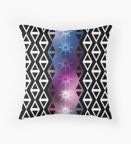 Patterns Triangle Sky Throw Pillow