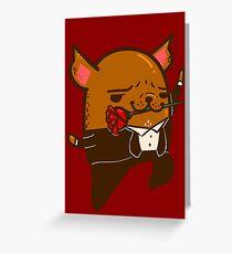 Tango Bub Greeting Card