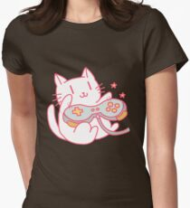Vintage Hipster Video Game Cat T-shirt T-Shirt