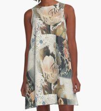 Café de Flore A-Line Dress