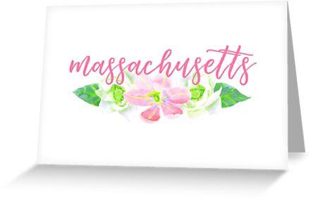 Massachusetts by Caro Owens  Designs