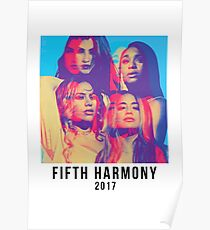 Fifth Harmony 2017 self titled - fifth harmony by fifth harmony Poster