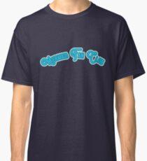 Mermaid Fan Club - Turquoise & Teal Version Classic T-Shirt