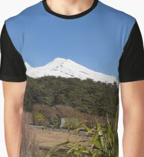 Snow Covered Mountain Graphic T-Shirt