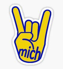 Rock On Michigan Sticker