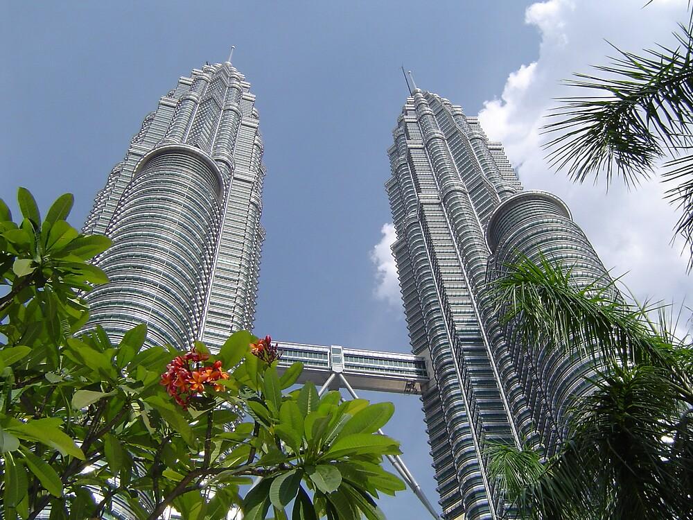 Petronas Towers - Kuala Lumpur by David Meyer