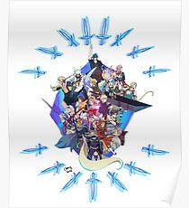 Final Fantasy 30th Anniversary  Poster