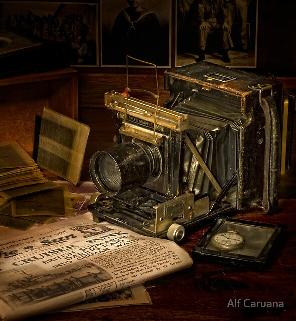 Portrait of a Camera by Alf Caruana