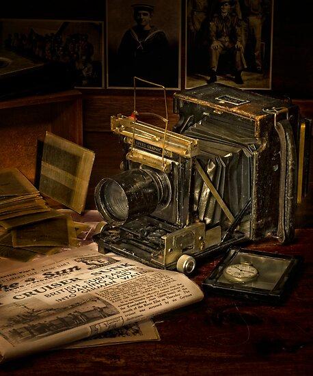 Portrait of a Camera by Alf Caruana