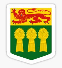 Saskatchewan Coat of arms, Canada Sticker