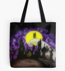 Forever Halloween Nightmare Love Tote Bag