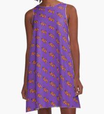 Clemson Man A-Line Dress
