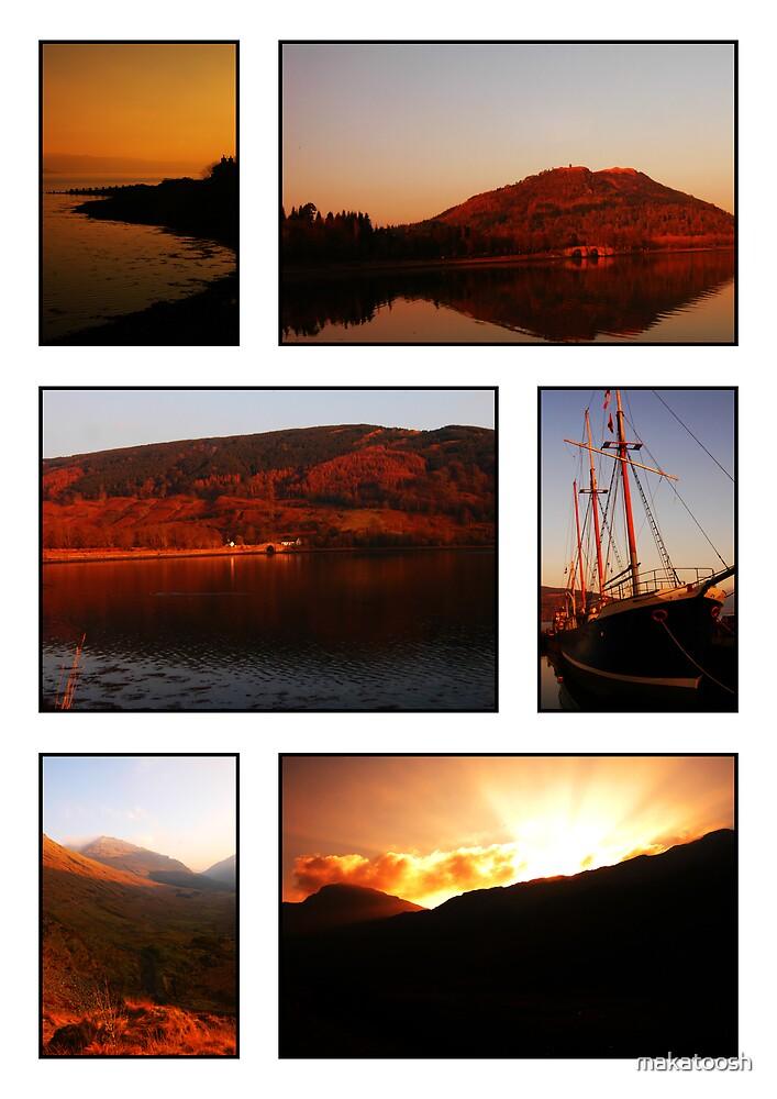 Argyll Sunsets by makatoosh