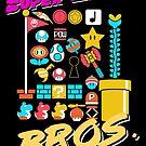 Super 80er Bros. von B-Shirts