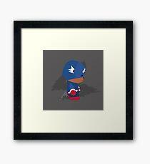 Captain Bear-ica Framed Print
