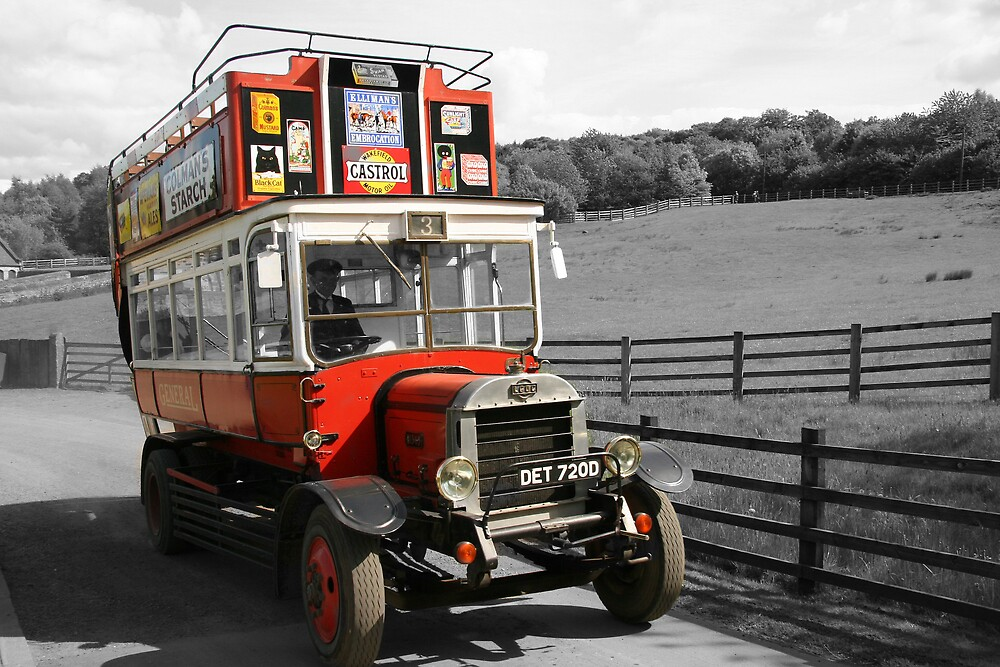 Open Top at Beamish by Dave Law