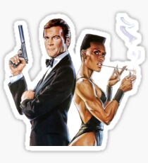 A view to a kill James bond Sticker