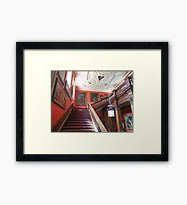 Stairway in Lyme Park Framed Print
