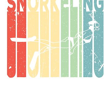 Snorkeling Diving Retro Vintage by prosperousjewel