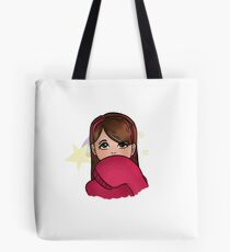 Shooting Stars and Pink Sweaters Tote Bag