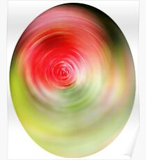 Colour Swirl - Abstract Poster