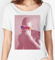 Red Frank Censored Women's Relaxed Fit T-Shirt