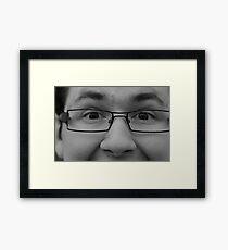 Agent Smart Framed Print