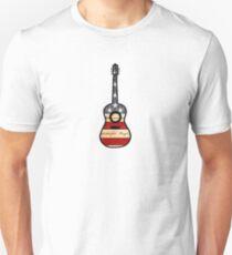 American Flag Guitar  T-Shirt