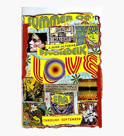 Summer Of Love Photographic Print