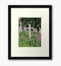 Brompton Cemetery, London. Framed Print